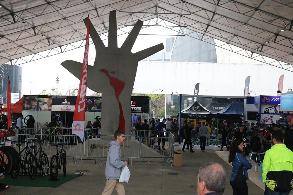A edição deste ano aconteceu no Memorial da América Latina / Márcio de Miranda - Planeta da Bike