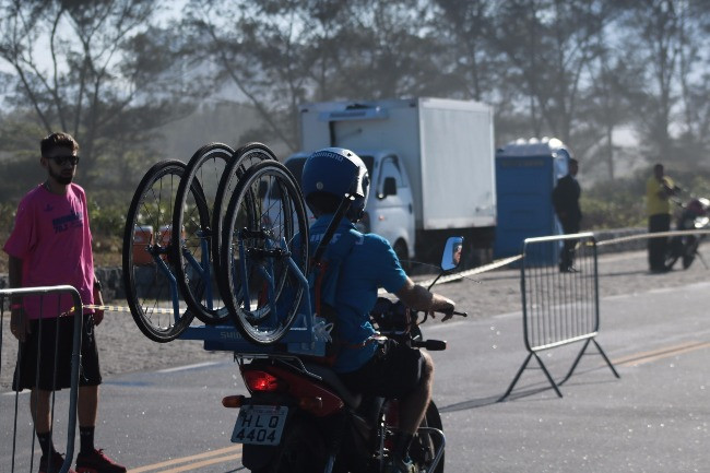 Suporte Neutro fazendo o percurso do ciclismo / Márcio de Miranda