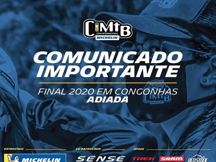 CIMTB Michelin: etapa de Congonhas (MG) é adiada