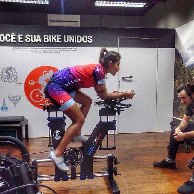 Fazendo Bike Fit / Divulgação