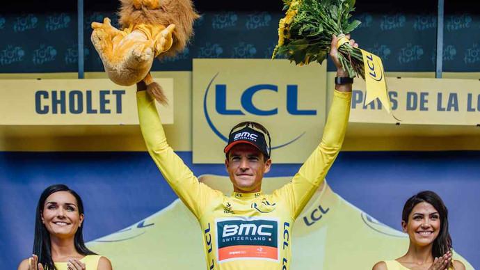 BMC levou a melhor no contra-relógio por equipes, na terceira etapa do Tour de France