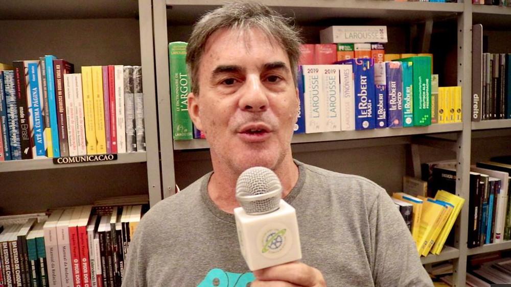Zé Lobo no lançamento do livro O Brasil que Pedala no Rio de Janeiro / Márcio de Miranda - Planeta da Bike