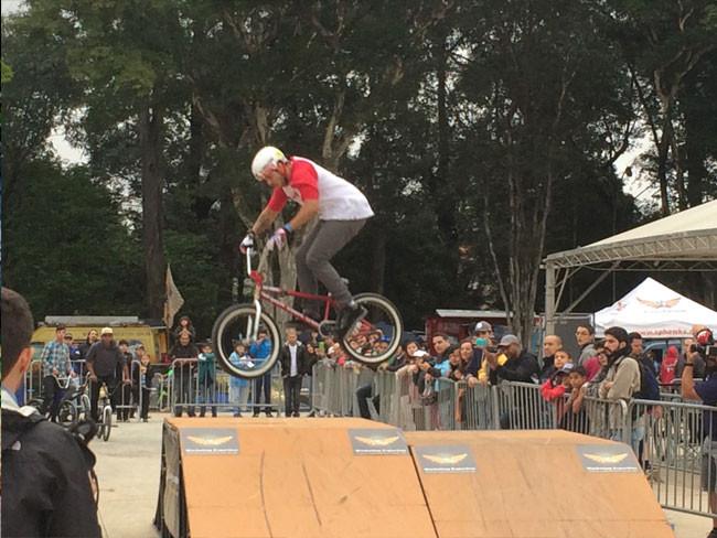 Exibição de BMX na edição de 2015 / Márcio de Miranda