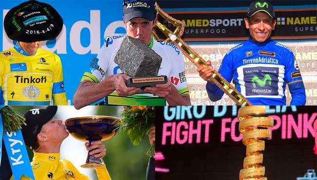 Top 5: troféus mais legais do UCI World Tour