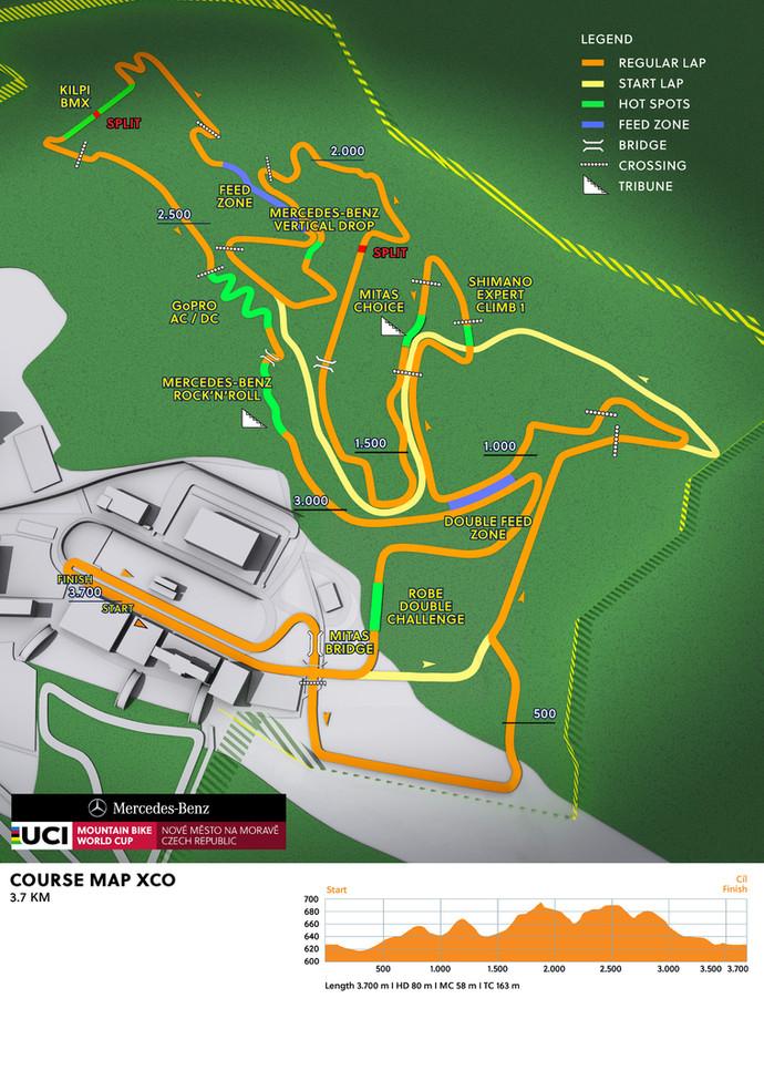 Conheça a pista da terceira etapa da Copa do Mundo de MTB XCO