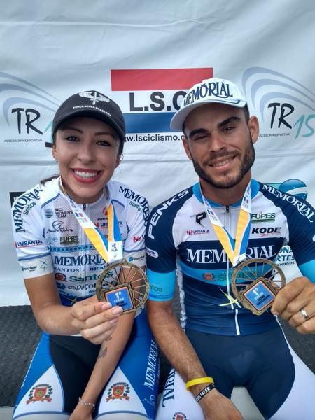 Joel Cândido Prado e Ana Paula Polegath