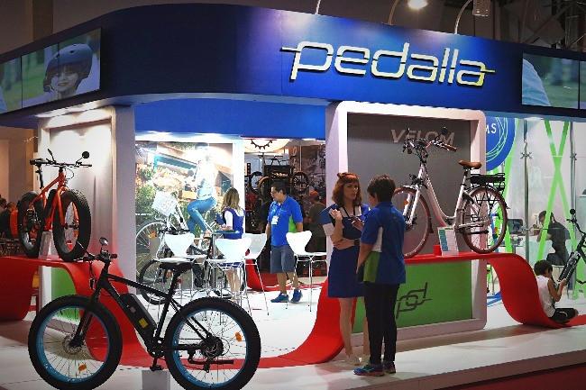 Standa da Pedalla na Brasil da Cycle Fair deste ano / Márcio de Miranda