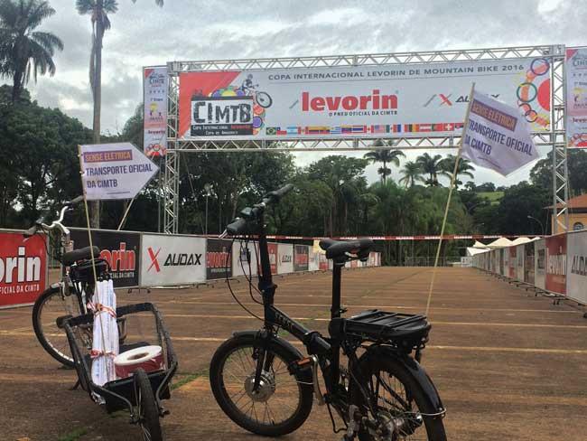 Bicicletas usadas pela organização da prova / Divulgação