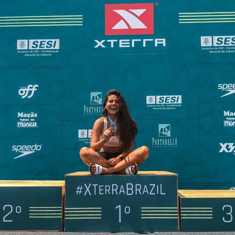 Carolina Almeida já tem vaga assegurada no mundial do Havaí / Divulgação