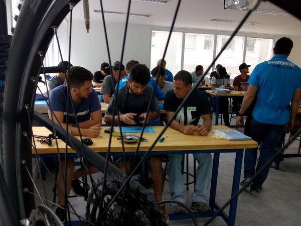Shimano/Blue Cycle abrem novas turmas para março e maio no Centro de Treinamento Técnico, em São Pau