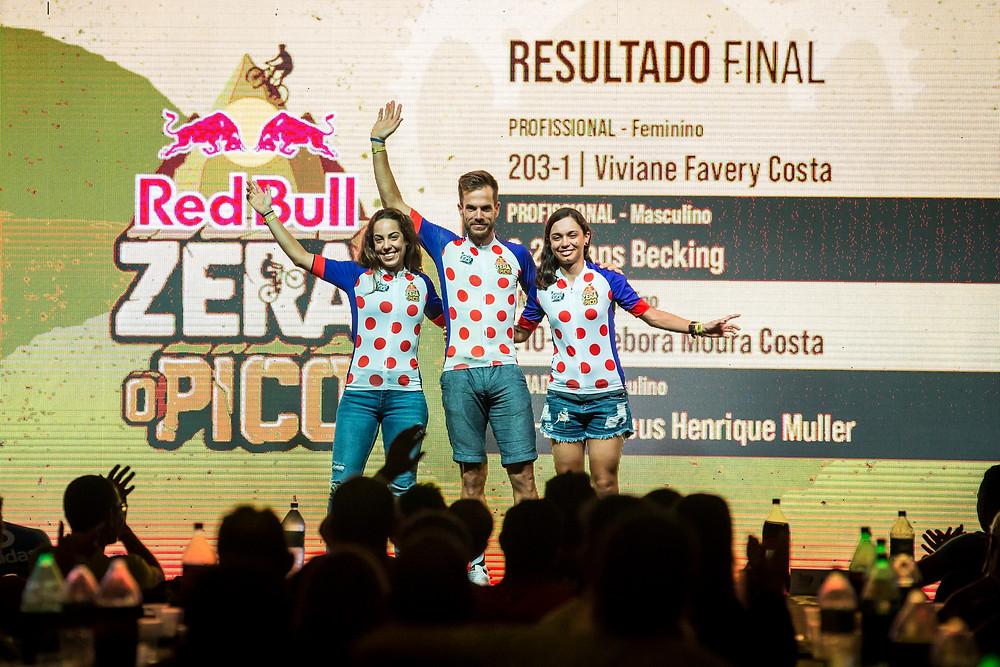 Vencedores do Zera o Pico / Fábio Piva