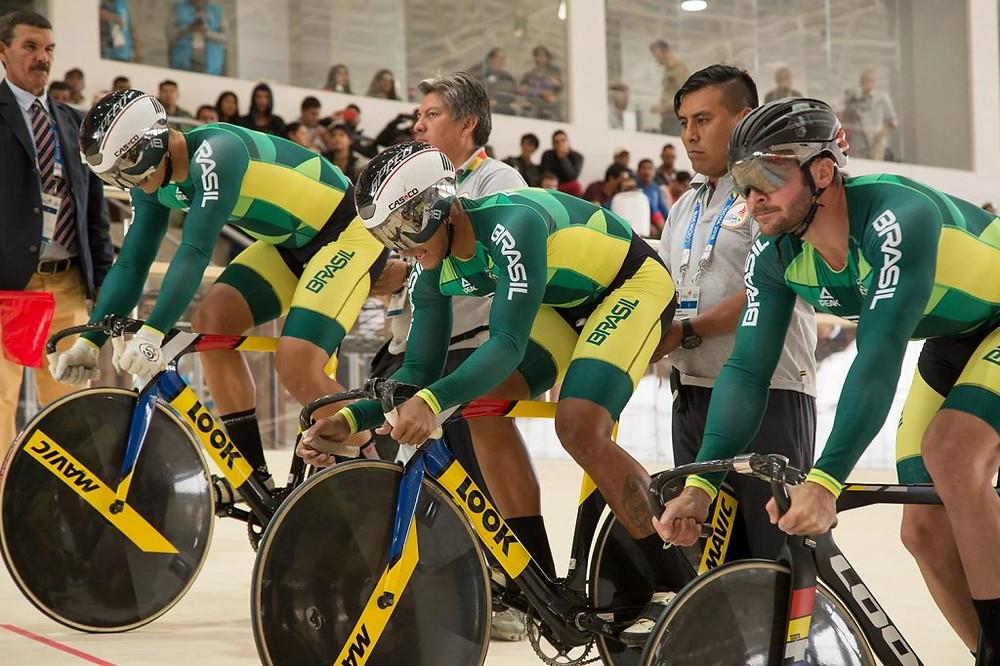 Equipe brasileira de Velocidade masculina / Divulgação