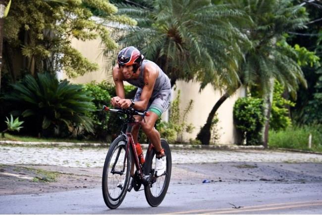 Atleta fazendo força na edição passada / Divulgação
