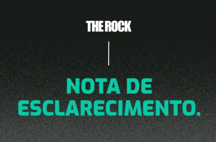 Organização do The Rock emite nota de esclarecimento sobre o cancelamento da prova