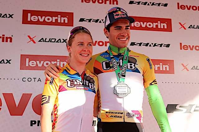 Cloe e Avancini venceram a primeira etapa da CIMTB / Márcio de Miranda - Planeta da Bike