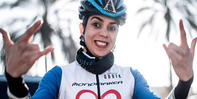 Raíza é a melhor brasileira no ranking da UCI / Divulgação