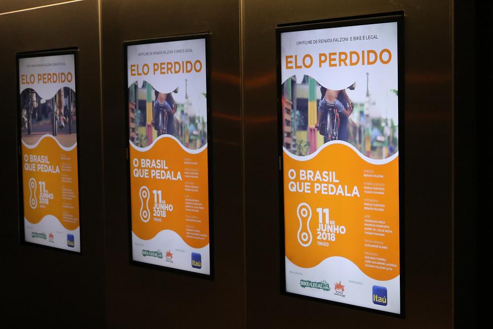 Cartaz do filme / Márcio de Miranda - Planeta da Bike