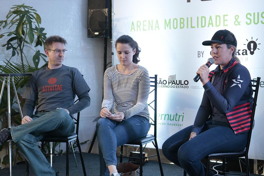 Palestras na Arena de Mobilidade / Márcio de Miranda - Planeta da Bike
