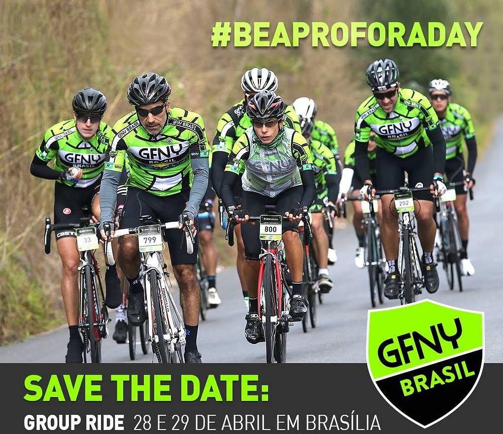 Flyer do Group Ride / Divulgação