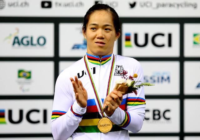 Chinesa bate primeiro recorde do Mundial de Paraciclismo de Pista Rio