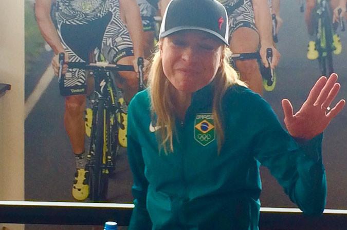 Flavia Oliveira em recente passagem no Rio / Márcio de Miranda