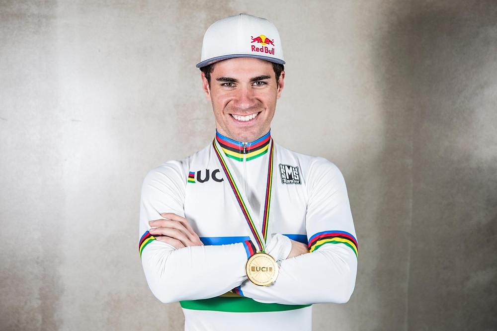 Henrique Avancini foi o primeiro brasileiro campeão mundial de MTB Marathon/ Fabio Piva - Red Bull Content Pool