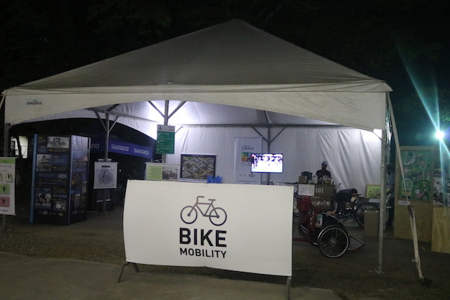 Tenda sobre mobilidade / Márcio de Miranda - Planeta da Bike