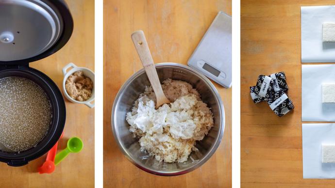 Aprenda a fazer o Bolo de arroz vegano da equipe World Tour UCI, EF Pro Cycling