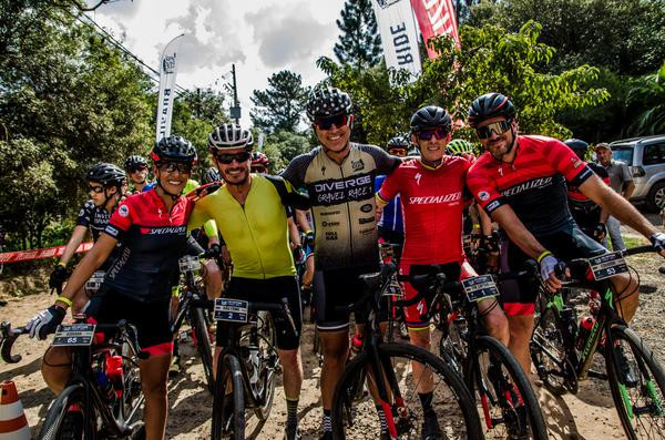 Adriana, João Firmo, Roma, Ned e Gasperini  (Ney Evangelista / Brasil Ride)