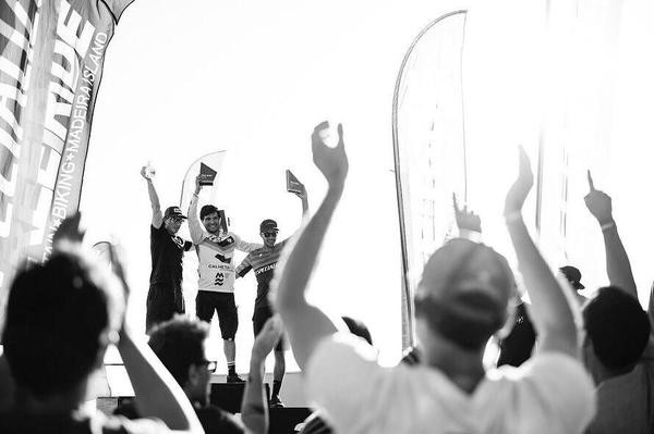 André Bretas conquista lugar no pódio do Trans Madeira, em Portugal