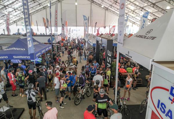 Área da expo no Festival da Bike (Fernando Siqueira / FS Fotografia)