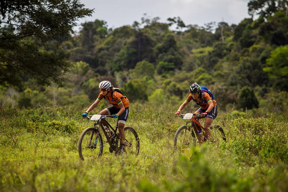 Raiza e Margot em 2017 / Fabio Piva - Brasil Ride