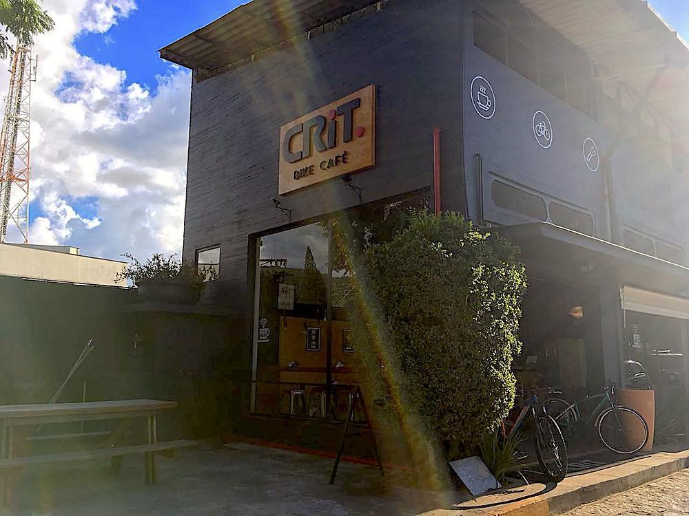 Fachada do Crit Bike Café de Itaipava / Márcio de Miranda - Planeta da Bike