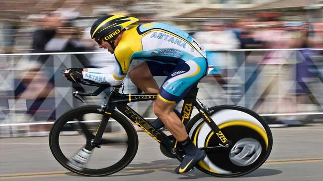 Lance Armstrong em 2009 no Tour da Califórnia / Divulgação