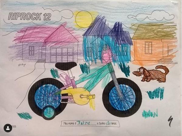 Região Sudeste - Desenho do Jun, de 4 anos