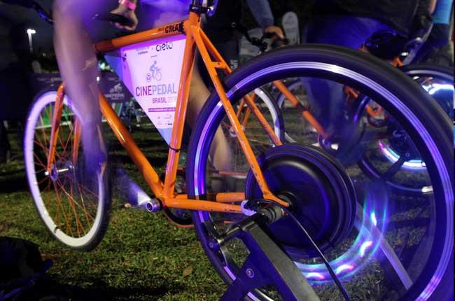 Detalhe da bike do evento / Divulgação