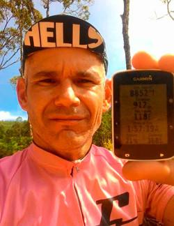 Fred e a sua marca no GPS / Carol Penna