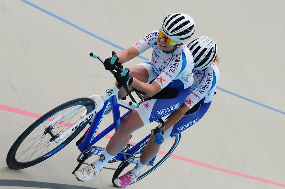 Atletas da Tandem no Paraciclismo Crédito: Luis Claudio Antunes/CBC
