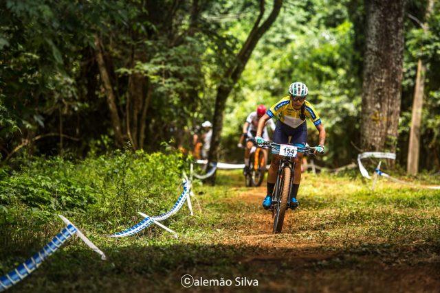 Paula Quiros manteve camisa de líder com resultado do XCC (Foto: Alemão Silva)