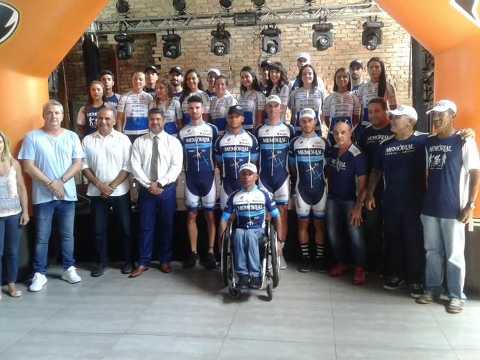 Com volta de medalhista paralímpico Lauro Chaman, equipe de ciclismo Memorial-Santos/Fupes é apresen