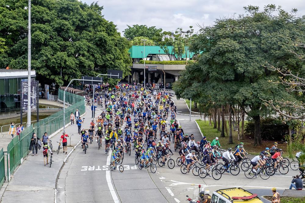 Passeio Ciclístico da edição passada /  Foto André crispim