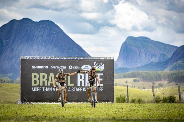 Hans e Tiago vencem a etapa (Rosita Belinky / Brasil Ride)