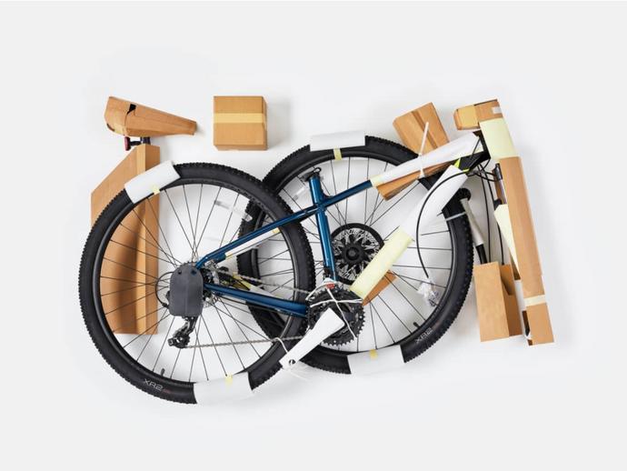 Trek se junta ao Responsible Packaging Movement  para eliminar o plástico das embalagens