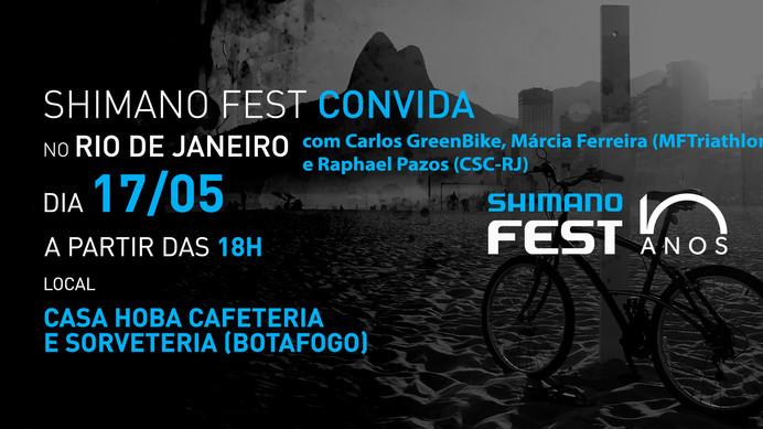Edição carioca do Shimano Fest Convida acontece na próxima sexta