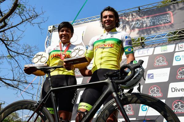Vencedores da 72ª Prova Ciclística 9 de Julho  (Gazeta Press)