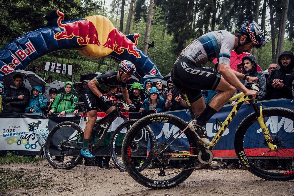 Henrique Avancini and Lars Bartek Wolinski_Red Bull Content Pool Forster
