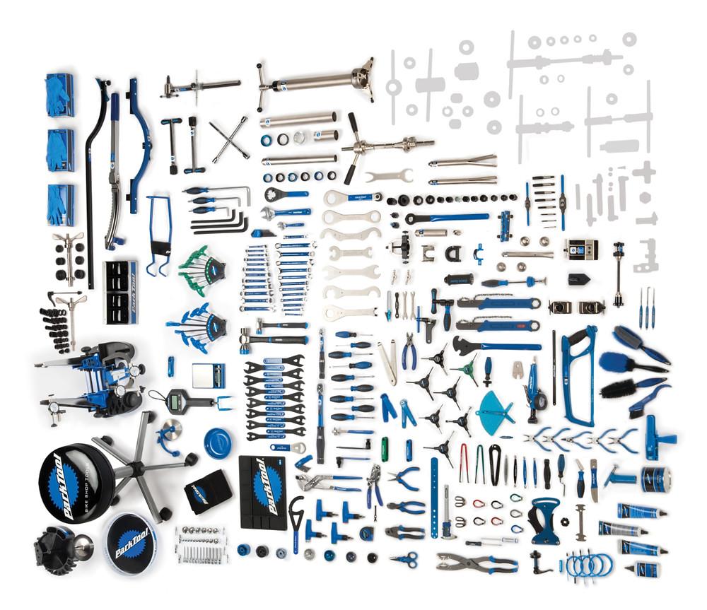 Kit Park Tool BMK 264 / Márcio Mecca - Seppia Geração de Conteúdo
