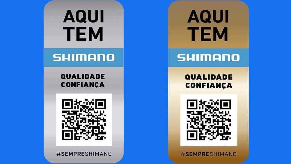 Selos da campanha #sempreshimano / Divulgação