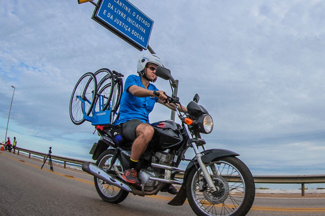 Suporte Neutro terá duas motos acompanhando os líderes em Floripa / Rodrigo Philipps - Foco Radical