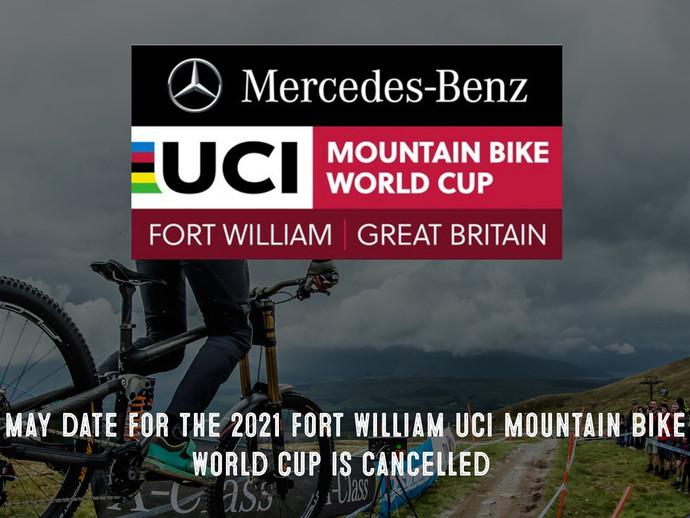 UCI Mountain Bike World Cup de Fort William é cancelada por causa da pandemia